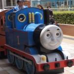 きかんしゃトーマス トレインツアーがビナウォークにやってきた。