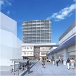 海老名駅前小田急東口ビル、複合施設の名称はビナフロント!10月17日オープンへ。