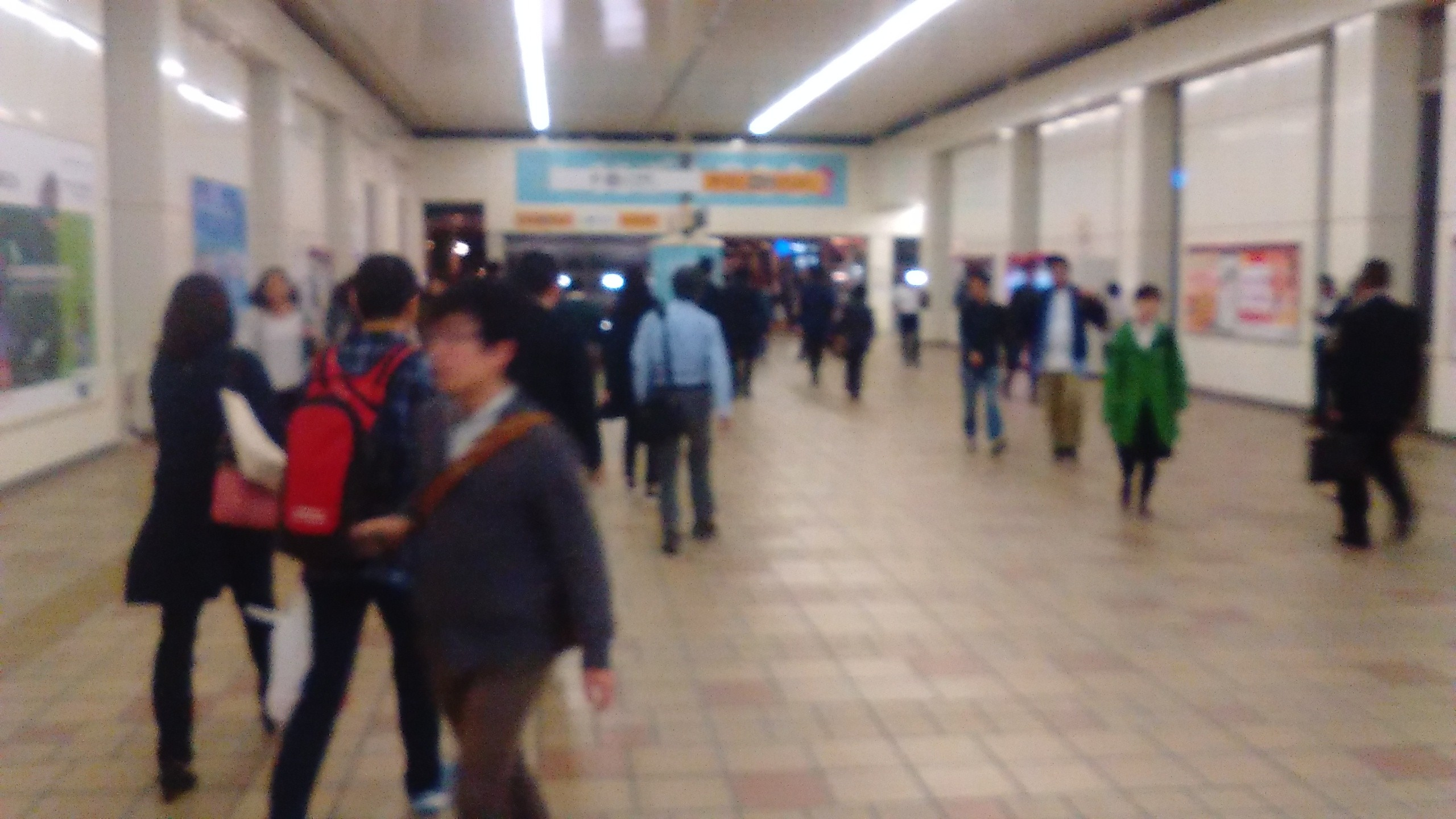 海老名駅改札を降りて