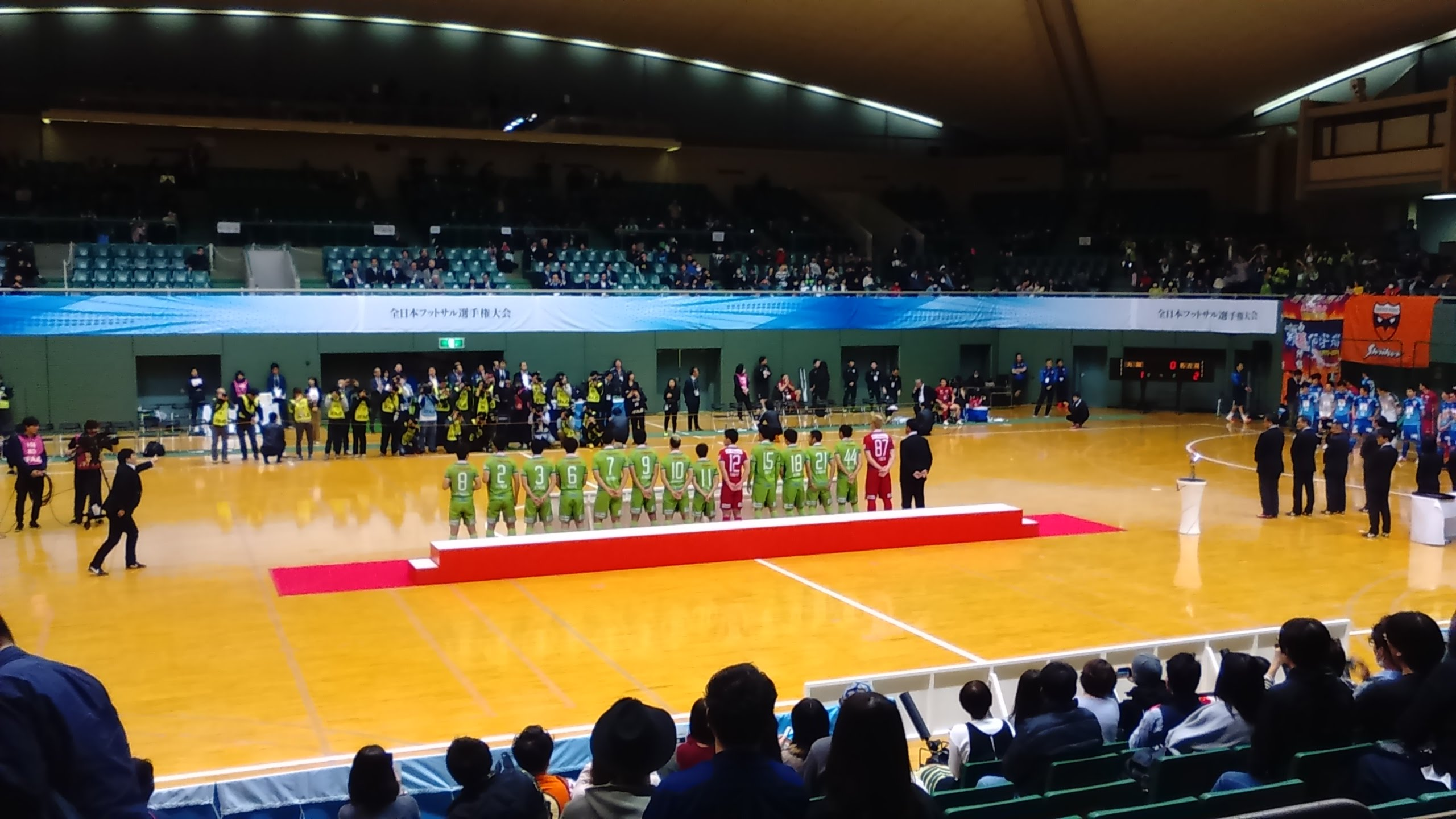 湘南ベルマーレフットサルクラブ、全日本フットサル選手権3位