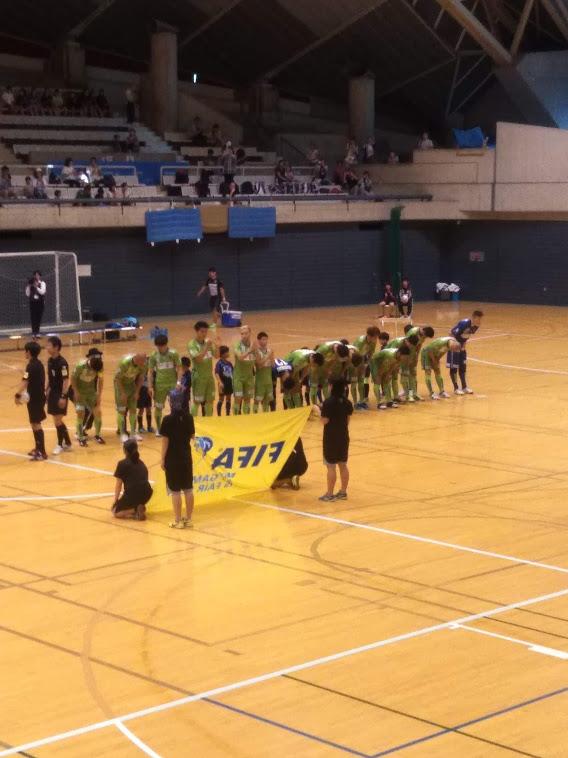 湘南ベルマーレフットサルクラブは秋葉台でプレシーズンマッチ